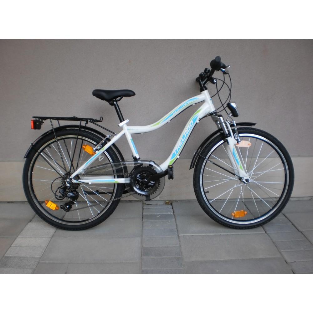 70cff47b2a4 Спортен юношески велосипед MUSTANG TRELAGO 24 цола преден амортисьор