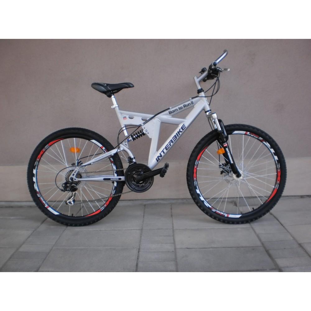 67acb3c651e МТВ велосипед BORN TO RUN INTERBIKE 26 цола амортисьори диск