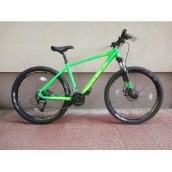 6374f7c4da9 Алуминиев МТВ велосипед RIDDICK 27.5 преден амортисьор диск
